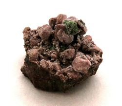 Picture of Dolomite with Malachite (Tsumeb, Namibia)