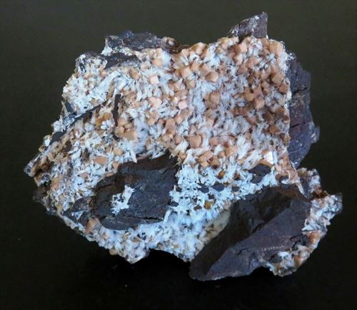Picture of Olmiite with Bultfonteinite (Kalahari Manganese Fields, South Africa)