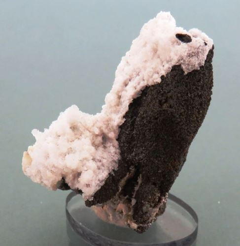 Picture of Goethite pseudomorph after Muscovite with Hyaline (Erongo Namibia)