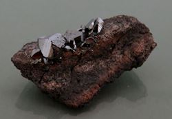 Picture of Hematite, ( Kalahari Manganese Fields, South Africa.)