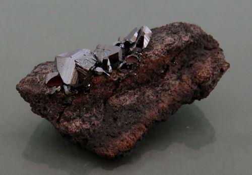 Picture of Hematite, ( Kalahari Manganese Fields, South Africa.)
