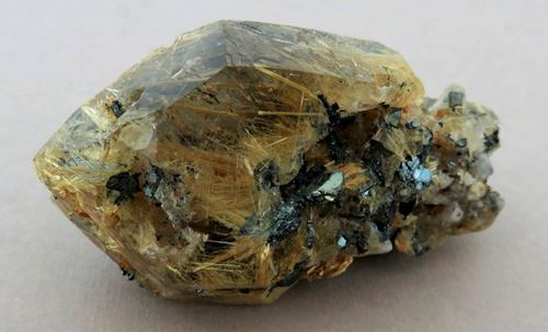 Picture of Rutilated Quartz, (Bahia Brazil)