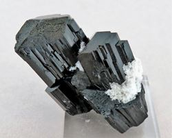 Picture of Schorl with Hyaline (Erongo, Namibia)