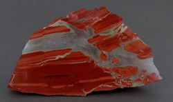 Picture of Quartz in Jasper (Kuruman, South Africa)