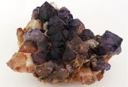 Picture of Fluorite with Quartz (Riemvasmaak, South Africa)