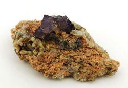 Picture of Fluorite with Quartz (Riemvasmaak, South Africa)