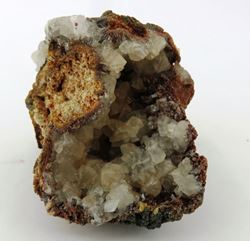 Picture of Smithsonite on Descloizite (Berg Aukas, Namibia)