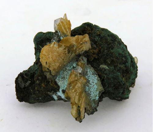 Picture of Wulfenite (Tsumeb Mine, Namibia)