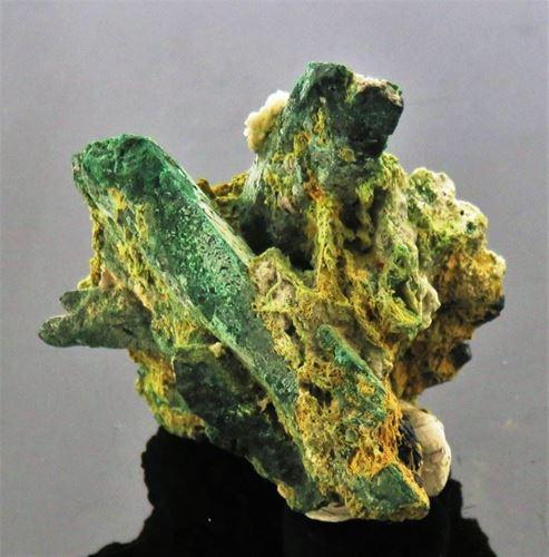 Picture of Malachite Pseudomorph after Azurite (Tsumeb, Namibia)