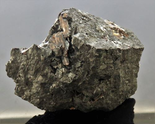 Picture of Diaspore and Bixbyite. (Kalahari Manganese Fields South Africa)