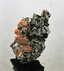 Picture of Hausmanite. (Kalahari Manganese Fields, South Africa)