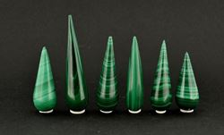 Picture of Polished Malachite Points