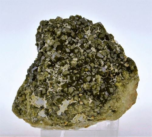 Picture of Demantoid Garnet (Tubussis, Namibia)