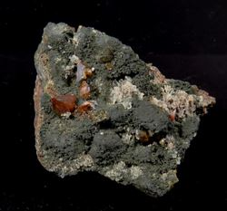 Picture of Wulfenite (Tsumeb Mine, Namibia)