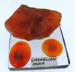 Picture of Carnelian. India.