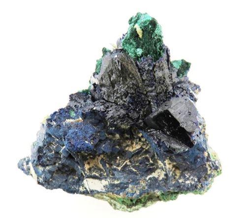 Picture of Malachite & Azurite (Tsumeb, Namibia)