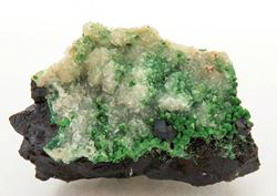 Picture of Calcite / Cuprite / Conichalcite (Tsumeb, Nambia)