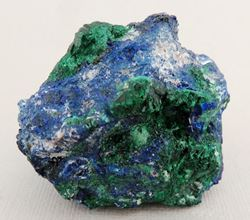 Picture of Azurite with Malachite (Tsumeb , Namibia)