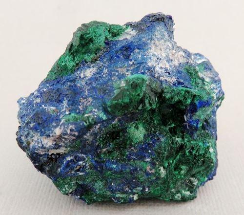 Picture of Azurite with Malachite (Tsumeb , Namibia)