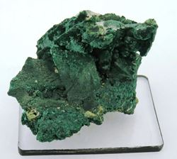 Picture of Malachite pseudomorph after Azurite, (Tsumeb Namibia)