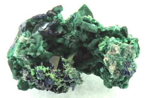 Picture of Malachite and Azurite (Tsumeb, Namibia)