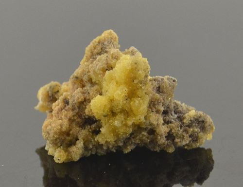 Picture of Ettringite on Calcite (South Africa)