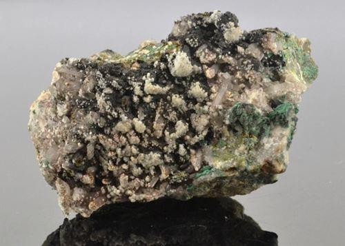Picture of Quartz, Calcite & Goethite (Tsumeb, Namibia)