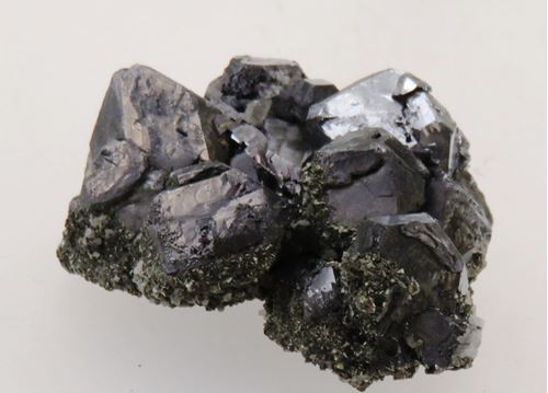 Picture of Galena with Pyrite (Morocco)