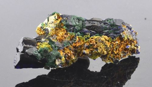 Picture of Azurite (Tsumeb, Namibia.)
