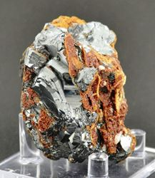 Picture of Hematite with Andradite (South Africa)