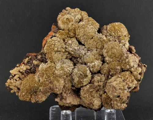 Picture of Olmiite with minor Bultfonteinite (South Africa)