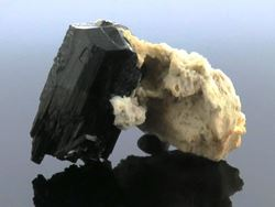 Picture of Black Tourmaline & Feldspar (Namibia)