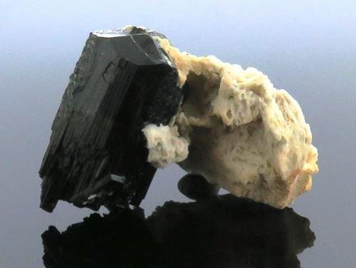 Picture of Black Tourmaline & Feldspar (Namibia)