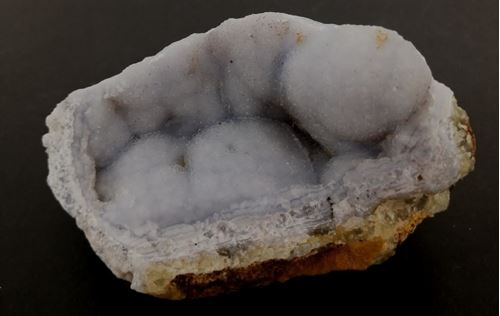 Picture of Blue Lace Agate, Namibia.
