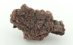 Picture of Dolomite Cast on Mottramite (Tsumeb, Namibia)