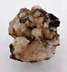 Picture of Mangoancalcite on Calcite (South Africa)