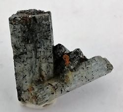 Picture of Aquamarine with Black Tourmaline (Namibia)