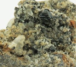 Picture of Brookite on Quartz (USA)