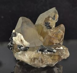 Picture of Quartz with Black Tourmaline (Namibia)