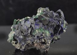 Picture of Azurite & Malachite (Tsumeb Namibia)