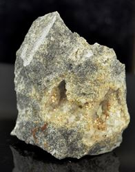 Picture of Analcime & Aegerine with possible Sazhinite (Aris, Namibia)