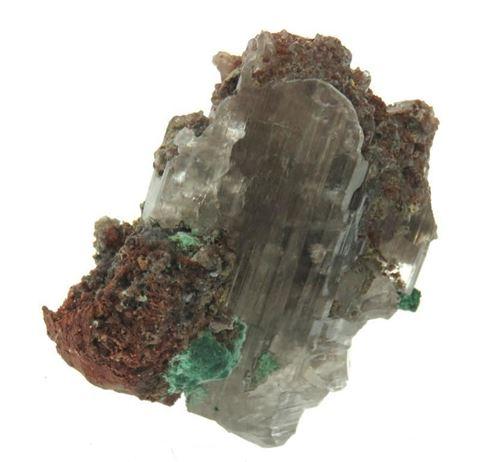 Picture of Cerussite with Malachite (Tsumeb, Namibia)