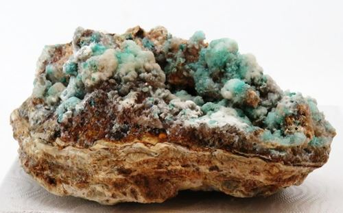 Picture of Dickite with Chantalite (South Africa)