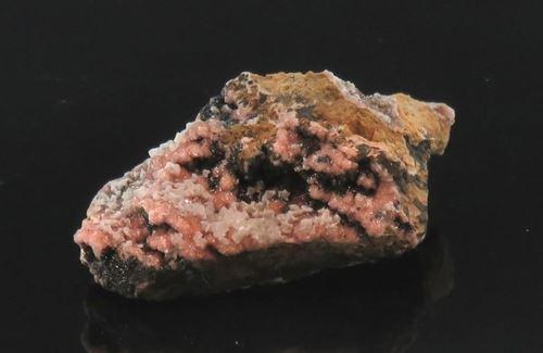 Picture of Mangoancalcite on Rhodochrosite (South Africa)
