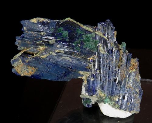 Picture of Azurite with Malachite (Tsumeb, Namibia)