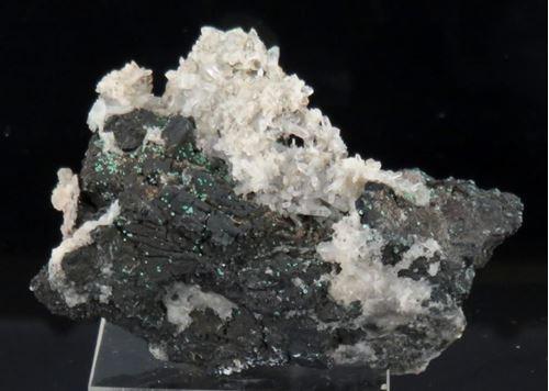 Picture of Tenantite & Quartz (Tsumeb, Namibia)