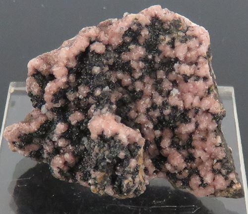 Picture of Rhodochrosite & Manganite (South Africa)