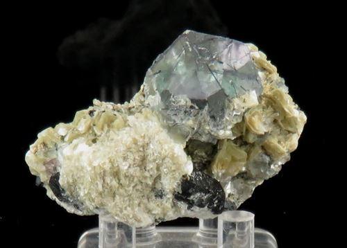 Picture of Fluorite, Muscovite, Schorl. (Namibia)