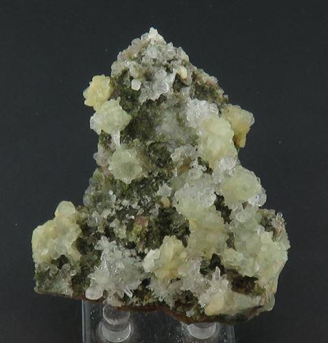 Picture of Prehnite, Epidote, Quartz. (Goboboseb, Namibia)