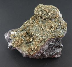 Picture of Pyrite & Barite (Kalahari Manganese Fields, South Africa)